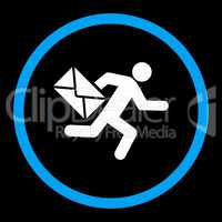 Mail courier icon