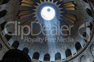 The Holy Sepulchre Church in Jerusalem
