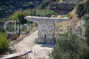 Brückenbau bei Sitia, Kreta