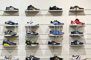 sneakers in the shop