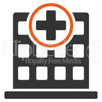 Clinic Building Icon