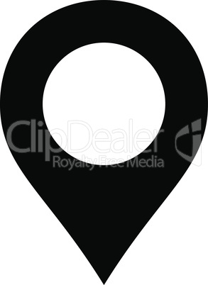 Black--map marker.eps
