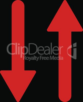 bg-Black Red--arrows exchange vertical.eps