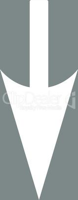 bg-Gray White--sharp down arrow.eps
