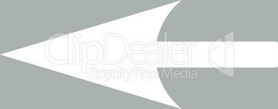 bg-Silver White--sharp left arrow.eps