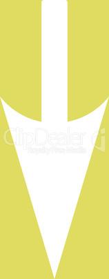 bg-Yellow White--sharp down arrow.eps