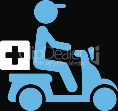bg-Black Bicolor Blue-White--drugs motorbike delivery.eps