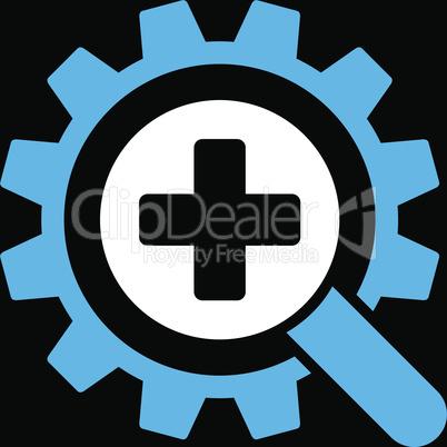 bg-Black Bicolor Blue-White--find medical technology.eps