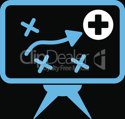 bg-Black Bicolor Blue-White--health strategy.eps