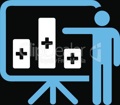 bg-Black Bicolor Blue-White--medical public report.eps