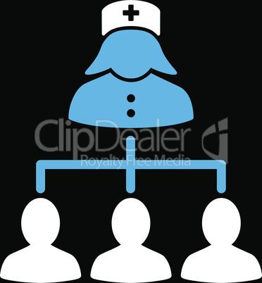 bg-Black Bicolor Blue-White--nurse patients connections.eps