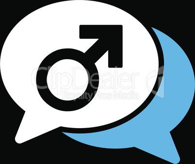 bg-Black Bicolor Blue-White--male chat.eps