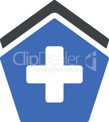 BiColor Cobalt-Gray--clinic building.eps