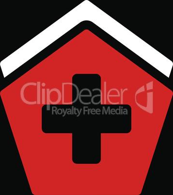 bg-Black Bicolor Red-White--clinic building.eps