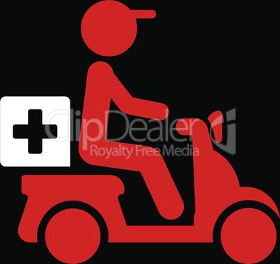 bg-Black Bicolor Red-White--drugs motorbike delivery.eps