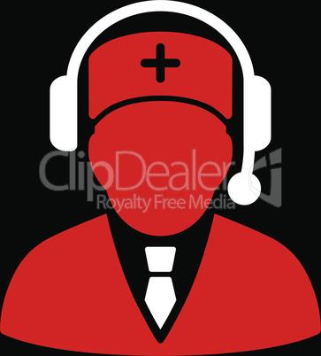 bg-Black Bicolor Red-White--Emergency manager.eps