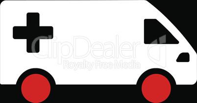 bg-Black Bicolor Red-White--emergency van.eps