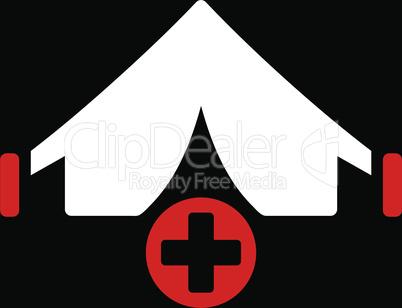 bg-Black Bicolor Red-White--field hospital.eps