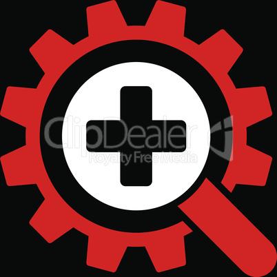bg-Black Bicolor Red-White--find medical technology.eps
