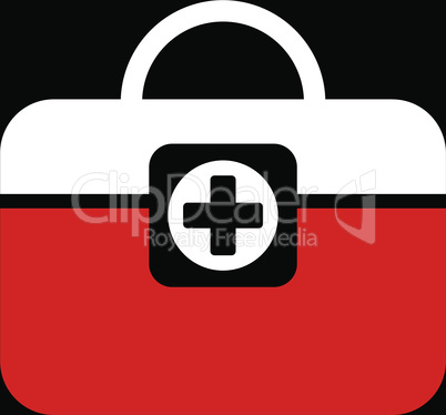 bg-Black Bicolor Red-White--medic case.eps