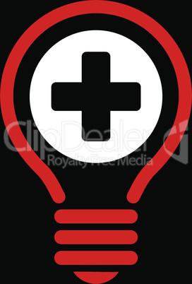 bg-Black Bicolor Red-White--medical bulb.eps