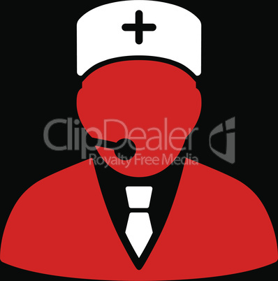 bg-Black Bicolor Red-White--medical manager.eps