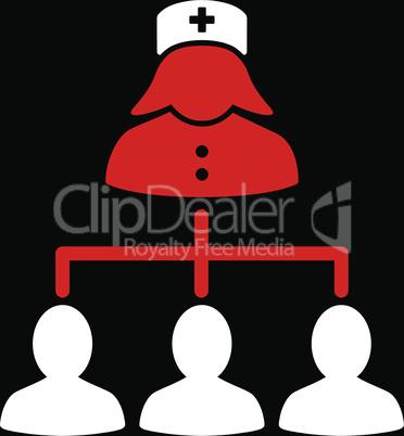 bg-Black Bicolor Red-White--nurse patients connections.eps