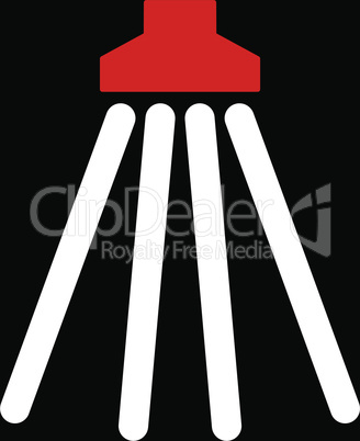 bg-Black Bicolor Red-White--shower.eps