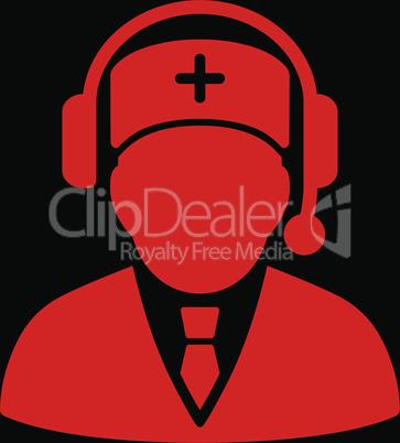 bg-Black Red--Emergency manager.eps