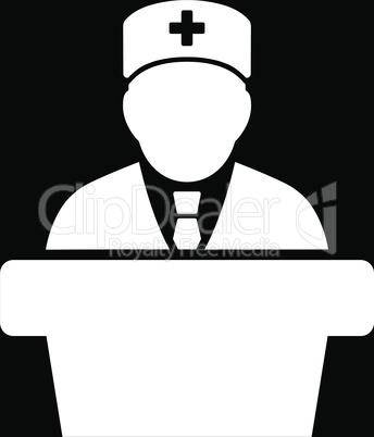 bg-Black White--Health care official.eps