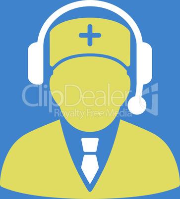 bg-Blue Bicolor Yellow-White--Emergency manager.eps