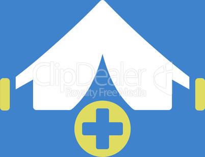 bg-Blue Bicolor Yellow-White--field hospital.eps