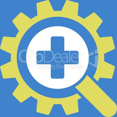 bg-Blue Bicolor Yellow-White--find medical technology.eps