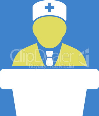 bg-Blue Bicolor Yellow-White--Health care official.eps