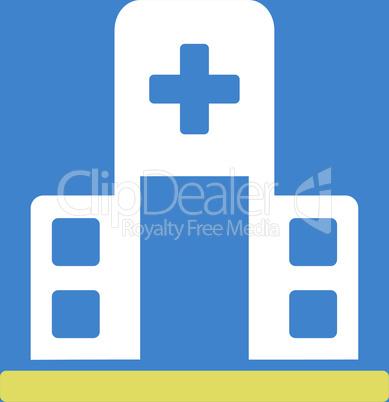 bg-Blue Bicolor Yellow-White--hospital building.eps