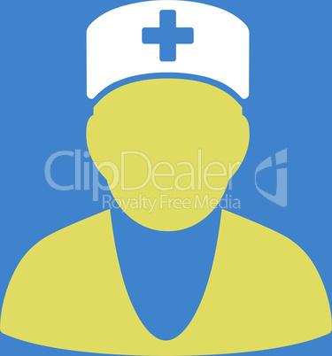 bg-Blue Bicolor Yellow-White--medic.eps