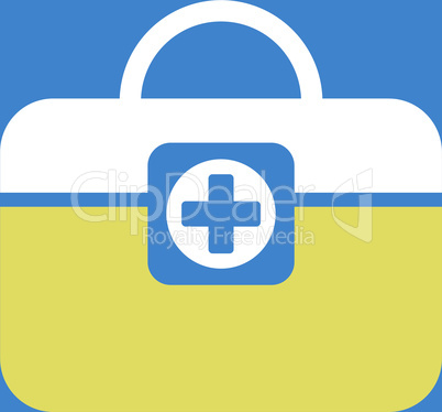 bg-Blue Bicolor Yellow-White--medic case.eps