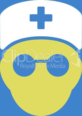bg-Blue Bicolor Yellow-White--medic head.eps
