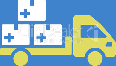 bg-Blue Bicolor Yellow-White--medication delivery.eps