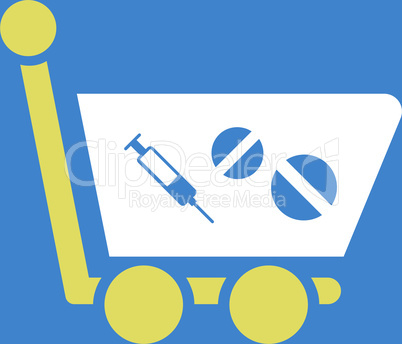 bg-Blue Bicolor Yellow-White--medication shopping cart.eps