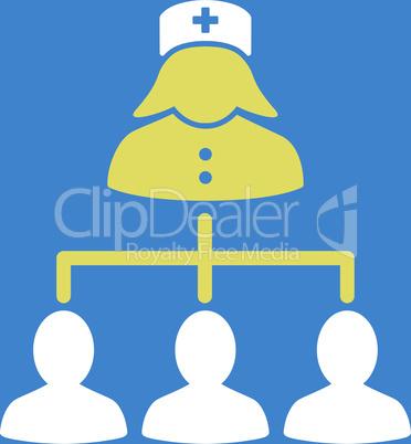 bg-Blue Bicolor Yellow-White--nurse patients connections.eps