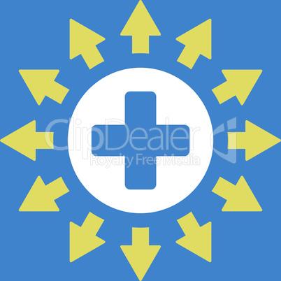 bg-Blue Bicolor Yellow-White--pharmacy distribution.eps