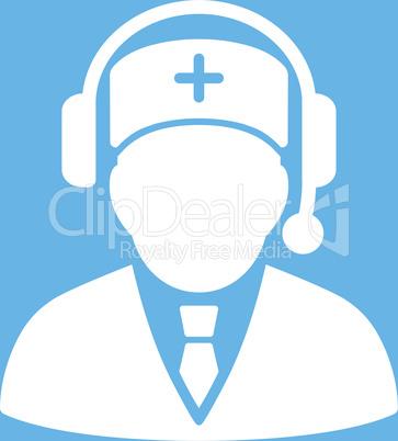 bg-Blue White--Emergency manager.eps