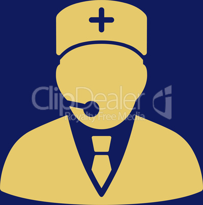 bg-Blue Yellow--medical manager.eps
