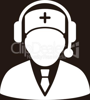 bg-Brown White--Emergency manager.eps