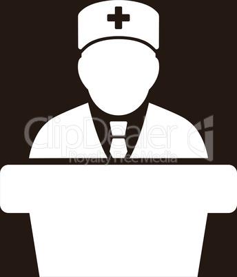 bg-Brown White--Health care official.eps