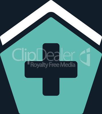 bg-Dark_Blue Bicolor Blue-White--clinic building.eps