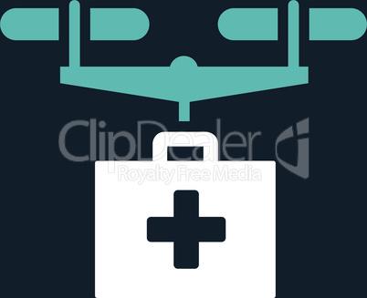 bg-Dark_Blue Bicolor Blue-White--drug drone delivery.eps