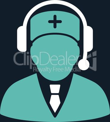 bg-Dark_Blue Bicolor Blue-White--Emergency manager.eps