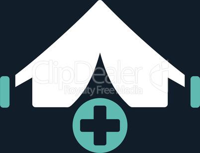 bg-Dark_Blue Bicolor Blue-White--field hospital.eps